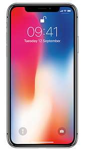 Iphone X 64Gb Brand New Not A Refurb! £24.99 Handset Cost £37 A Month! 80Gb Data Unlmtd Mins & Texts At Fonehouse £912.99