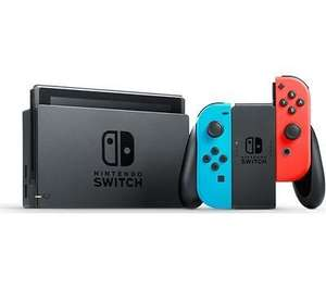 NINTENDO Switch Neon Red -  £249.99 @ Currys Ebay