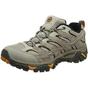 Merrell Men's Moab 2 Vent Low Rise Hiking Boots, £41.25 at amazon