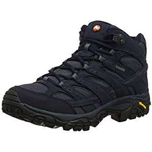 Merrell Men's Moab 2 Mid Gore-tex High Rise Hiking Boots, £61.86 at amazon