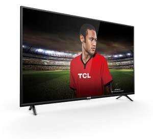 TCL - 43DP628 - TV with Smart Freeview Play - 43-Inch UHD 4K HDR10 - Black (2018 Model) [Energy Class A+] @ Amazon £269