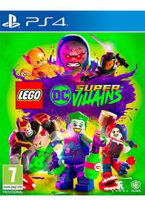 Lego DC Super Villains PS4 including Lex Luthor mini figure £29.85 @ simply games