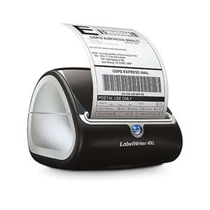 DYMO Label Writer 4 XL, Black DEAL OF THE DAY AT AMAZON £116.40