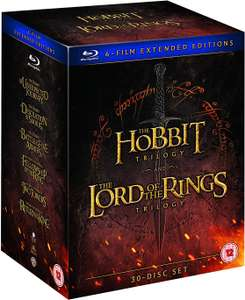 Middle Earth Collection Extended Edition @ Zavvi for £44.18
