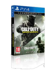 Call of Duty: Infinite Warfare - Legacy Ed. PS4. Now £7.50 Brand New and Delivered at Coolshop