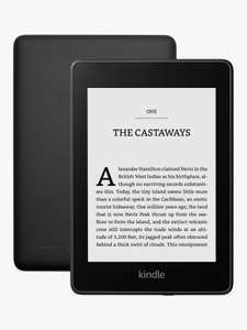Amazon Kindle Paperwhite, 6 '' Waterproof eReader, 8GB for £89.95 at John Lewis & Partners