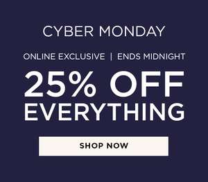 Cyber Monday - 25% Off Everything @ Burton - online exclusive