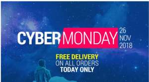 CYBER MONDAY FREE DELIVERY - TODAY ONLY! Usually £3.99 @ Decathlon
