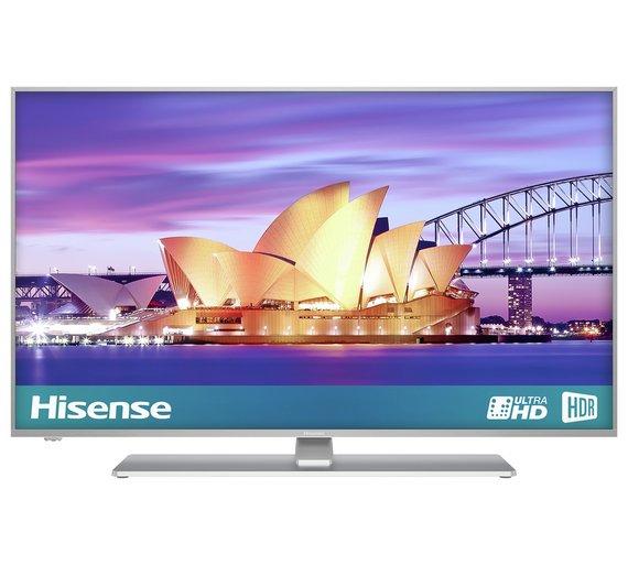 Hisense 43 Inch H43a6550uk Smart 4k Uhd Tv With Hdr 349 At Argos