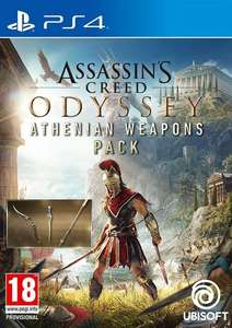 Assassins Creed Odyssey Athenian Weapons Pack DLC PS4 £1.39 @ Cdkeys