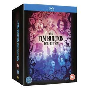 The Tim Burton Collection on Blu Ray - 8 Movies £12.68 using 10% off Code @ Zavvi