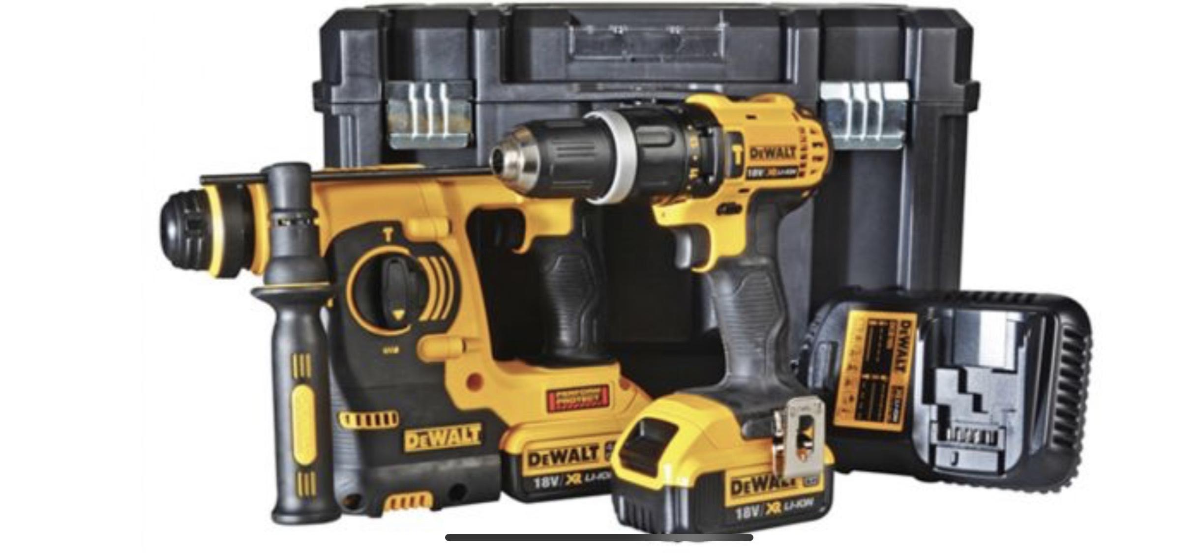 Dewalt SDS & Hammer Drill Driver Twin Pack £269.99 MTS