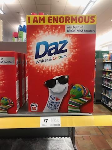Daz 80 wash £7 in Morrisons instore
