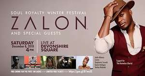 Free 'Soul Royalty Winter Festival' concert and free drink on 8th Dec 2018 - London
