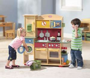 Little Tikes Cookin' Creations premium wooden kitchen £114.99