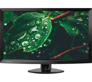 "LENOVO C24-10 Full HD 23.6"" LCD Monitor - Black, £69.99 at currys"
