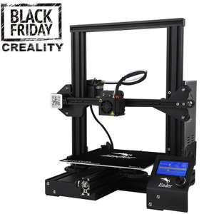 Creality 3D Ender-3 3D Printer £130.35 @ AliExpress via app - Creality 3D Official Store (Ships from UK)