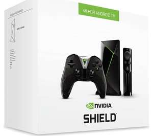 NVIDIA Shield 4K media streaming device, 16gb with remote and controller. Currys/PC World on Ebay. £149.99