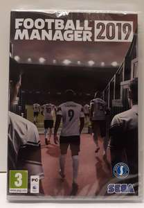 Football Manager 2019 at Daggers Shop for £21 delivered