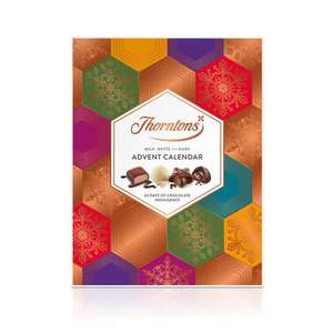Free Rituals advent calendar (worth £12) w/code on orders £20+ Thornton's online + 3 for 2 Personalised Advent Calendars