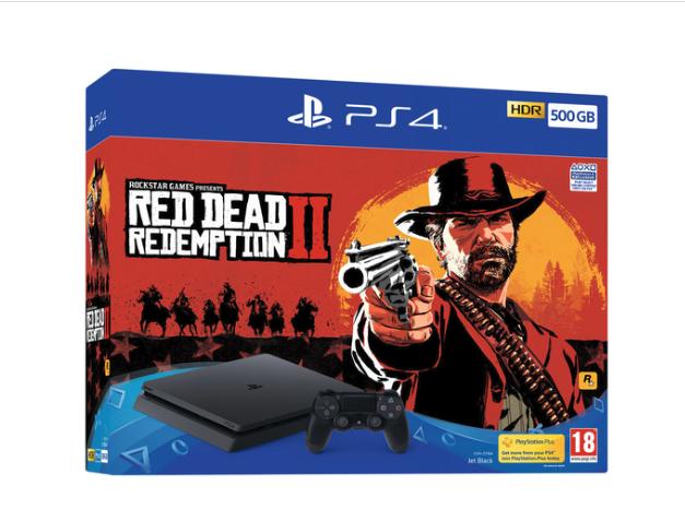 PS4 500GB RedDead Redemption 2 bundle in stock £219.85 @ Shopto