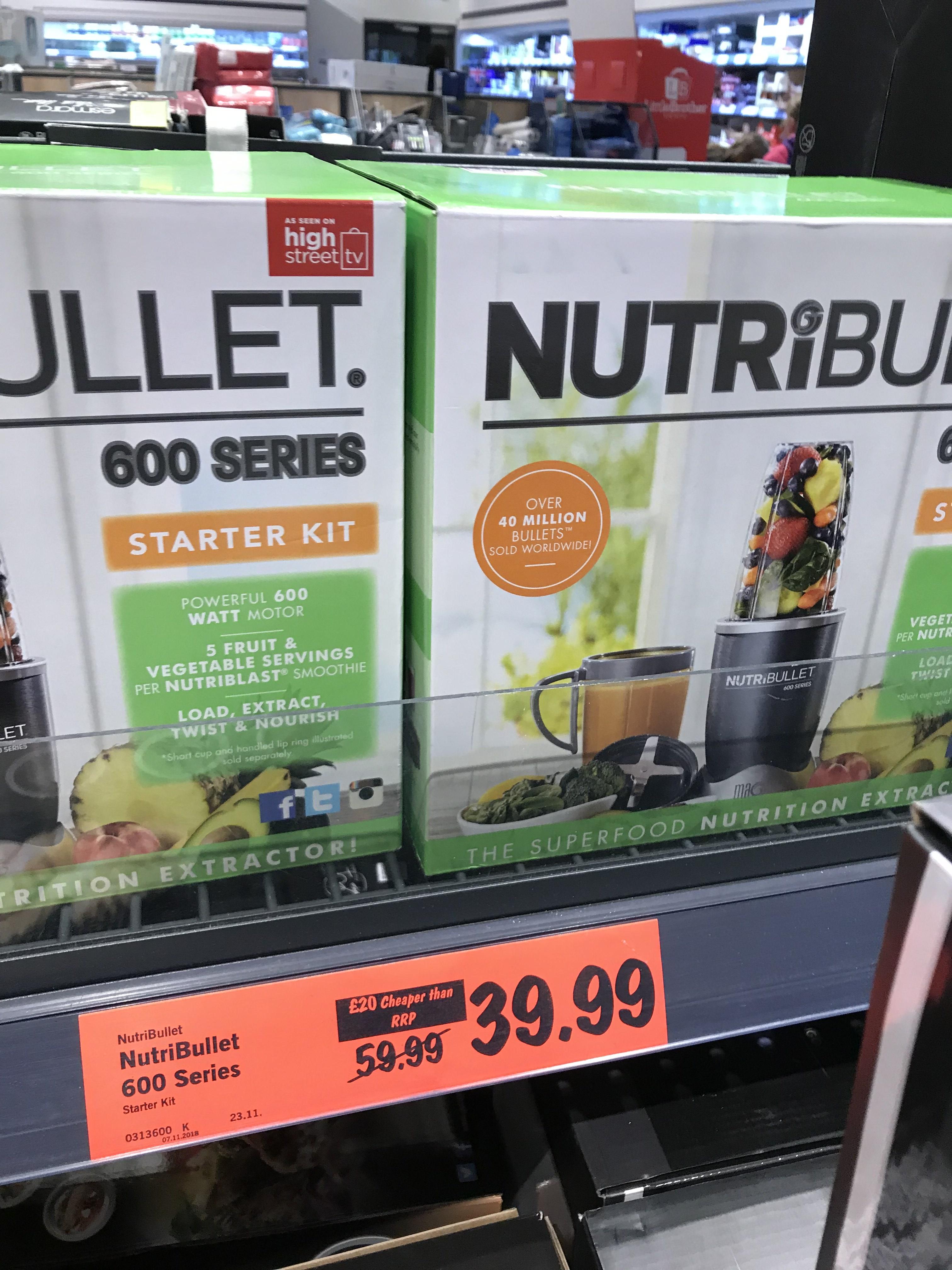 nutribullet 600 at £39.99 Lidl