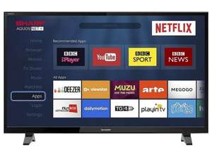 "Sharp LC-40FG5342E 40"" LED Smart TV Full HD 1080p With Freeview Play + Netflix @ Dealbuyer.com + £4.99 Delivery"