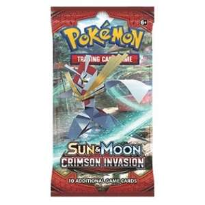 x18 pokemon sun and moon booster packs for £1.56 each (£28.10 total) code stacking @ chaoscards