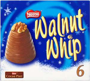 Nestle Walnut Whip x 6 £2 @ Morrisons £3 most other retailers £7.25 @ Amazon