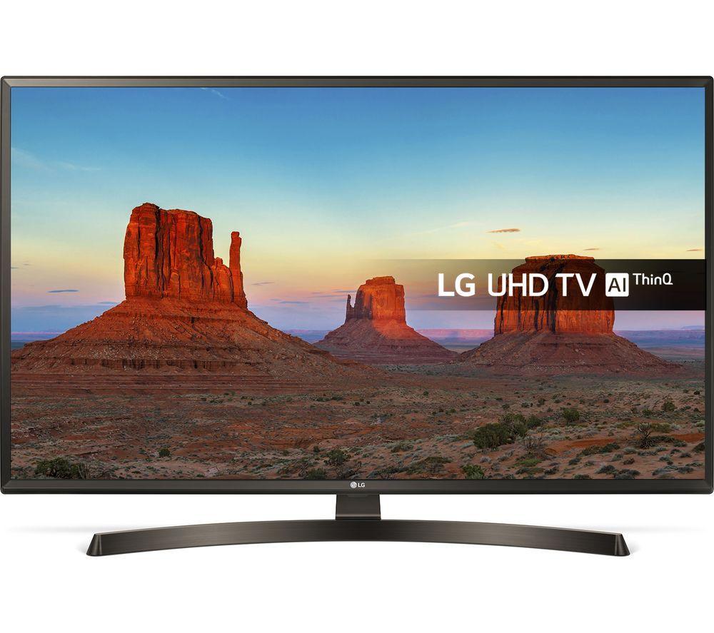 """LG43UK6470PLC 43"""" Smart 4K Ultra HD HDR LED TV £329.99 @ Currys"""