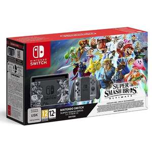 Nintendo Switch Super Smash Bros Ultimate Edition Console (incl. £64.00 in points) £320 @ 365games