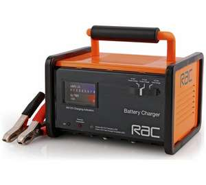 RAC 6/12V Trickle Car Battery ChargerArgos @ £27.49 (free C&C)