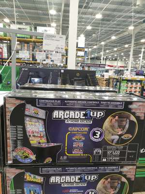 1up arcade machine with either streetfighter 2 games or midway arcade classics for £287.98  at COSTCO