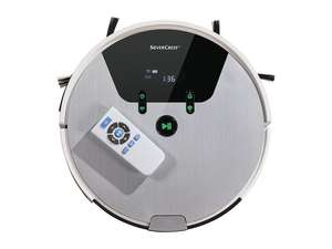 Silvercrest Robot Vacuum Cleaner £99 @ Lidl