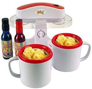 Lickleys Twin Cup Ice Cream Maker £19.99 + delivery @  Source 4 me /  Amazon