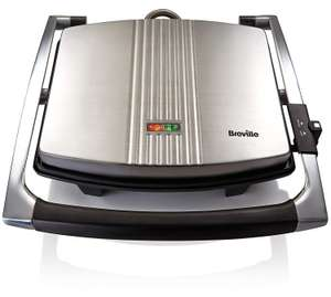 Breville VST026 Four Slice Sandwich Press Stainless Steel - Silver [Energy Class A] £29.99   @ Amazon