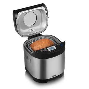 Tower T11001 Digital Bread Maker with Gluten Free Setting, Stainless Steel £49.99 @ Amazon