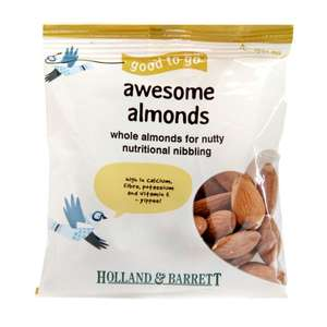 Holland & Barrett 40g almonds 69p with 50p back in reward points