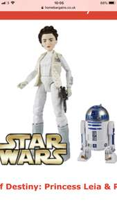 Star Wars Forces of Destiny: Princess Leia & R2-D2 £8.99 Home Bargains (£3.49 delivery)