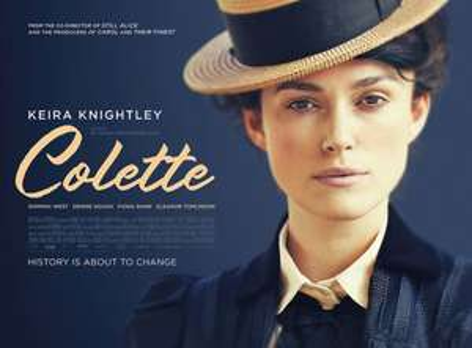 Colette - Free Film Tickets - Mon 7th Jan 2019