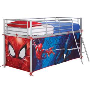 Marvel Spiderman Midsleeper Bed Tent by HelloHome was £29.99 now £15.99 prime / £20.48 non prime @ Amazon Prime.