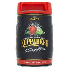 Kopparberg Strawberry & Lime 5L Kegs Half Price £9 @ Tesco Ilfracombe