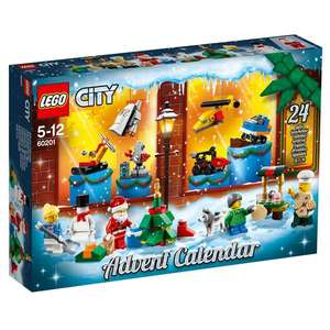 Lego City Advent Calendar / Lego Friends Advent Calendar £11.50, Lego Star Wars £12.50​ @ Jarrold (Free C&C Norwich or £3.50 P&P)