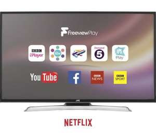 "JVC LT-49C870 49"" Smart 4K Ultra HD LED TV  - £319 @ Currys eBay"