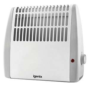 Igenix IG5005 Frost Watch Compact Electric Convector Heater 500W White £7.80 (Prime) £13.29 (Non Prime) Like New @ Amazon Warehouse