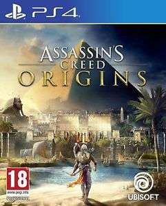 Assassin's Creed Origins (Used) PS4 12.99 from Boomerang Rentals on eBay