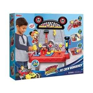 Disney Junior Mickey Roadster Racers Pit Crew Workbench Toy 43 Pieces Ages 3+ - £36 @ Tesco eBay