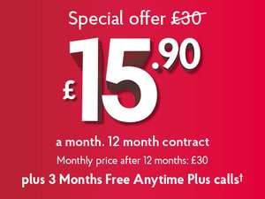 Unlimited Broadband - £15.90 a month @ Post Office (New Customers)