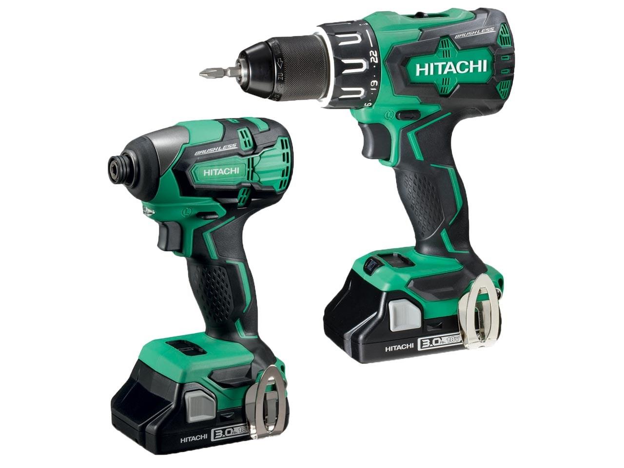 Hitachi drill / driver twin pack - £185 @ FFX