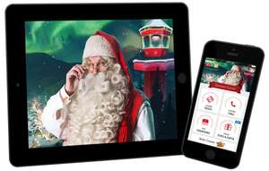 PNP Portable North Pole FREE Personalised Santa Video Message for Kids or Grown Ups now live